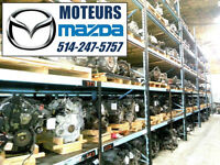 MOTEURS MAZDA 3/5/6- 2004-09 (JE POSE UN 2010-11 BAS MILLAGES)