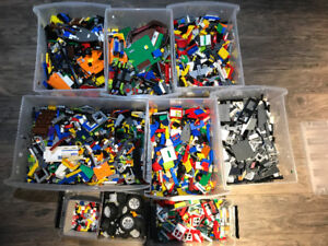 50 POUNDS OF LEGO + RARE PIECES