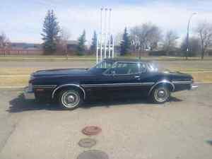1975 Ford Elite. Triple black original survivor.