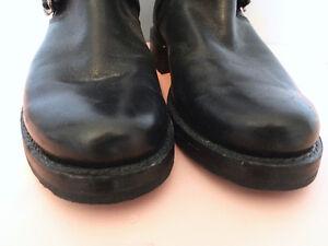 FRYE Veronica Back-Zip Motorcycle Boot, Size 5 $175 London Ontario image 9