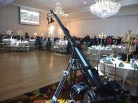 Camera Crane Jib Hire For Wedding Videography