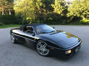 1994 Ferrari 348 Spider convertible 48K - Canadian with records