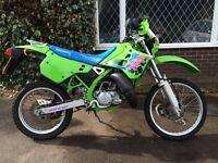 **LOW MILEAGE,RARE**1996 Kawasaki KDX 125SR not dt,kmx,