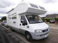 Laika Ecovip Classic 7 berth bunk beds coachbuilt motorhome for sale Ref 16092