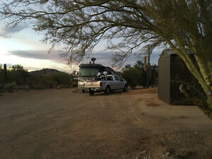 Private RV Spot in Cave Creek Arizona.
