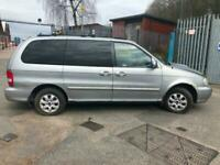 Kia Sedona 2.9Crdi for breaking, many parts available still, Very good seats.
