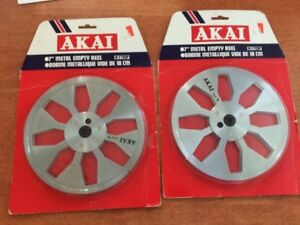 """10"""" and 7"""" MAXELL SONY AKAI Metal Reel TAPEs"""