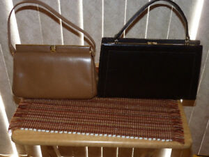 Vintage Leather Purses