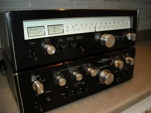 Sansui AU-5900 Integrated Amplifier/TU5900 TUNER…70's restored