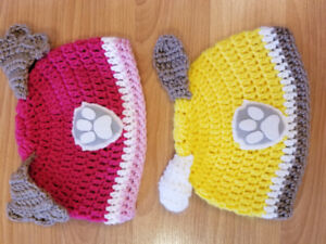 Paw Patrol Knitted Hats
