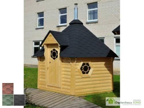 finn art saunakota elegance 9 2 m gartensauna saunahaus au ensauna outdoorsauna ebay. Black Bedroom Furniture Sets. Home Design Ideas