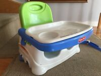 Fisher Price healthy care booster seat- perfect condition