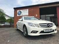 Mercedes-Benz E350 3.0CDI 231bhp Auto AMG SPORT - FSH - COMAND SAT NAV - XENONS