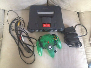 n64 system and Accessories