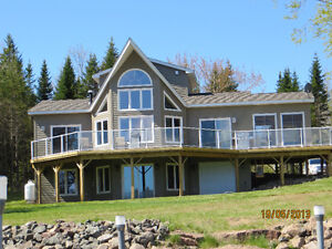 Executive Waterfront Cottage for rent on Richibucto River