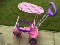 Dimples smart trike in pink and purple