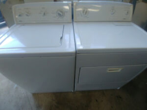 Kenmore heavy duty washer and dryer