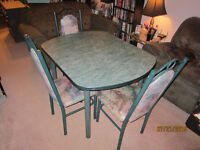 3 Chair Kitchen Table Set With Leaf