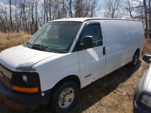 2003 Chevy Express 3500 Cargo Van $750