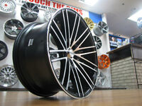 19 Inch Ikon Wheels Deep Concave Staggered 3 Piece Look CarKraze
