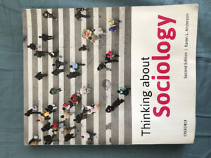 Thinking about Sociology Textbook (Brand New Condition)