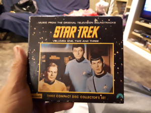 Star trek 3 cd set