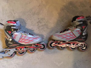 Men's size 10 Rollerblades -- barely used