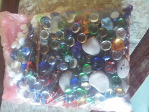 Large pack of assorted decorative marbles stones London Ontario image 5