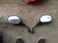Yamaha aerox mirrors