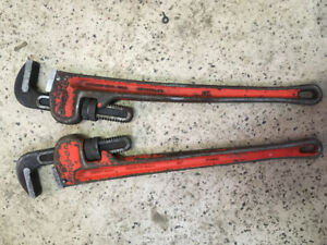 Snap On pipe wrenches