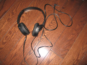 Sony MDR-ZX110/B EX Monitor Headphones