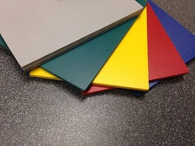 "6mm 1/4"" SINTRA PVC FOAM BOARD PLASTIC SHEETS ***YOU PICK SI"
