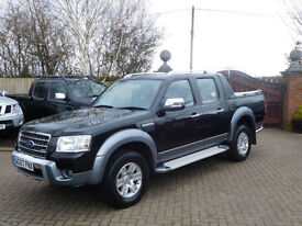 2008 Ford Ranger 3.0TDCi ( 156PS ) 4x4 Wildtrak Double Cab