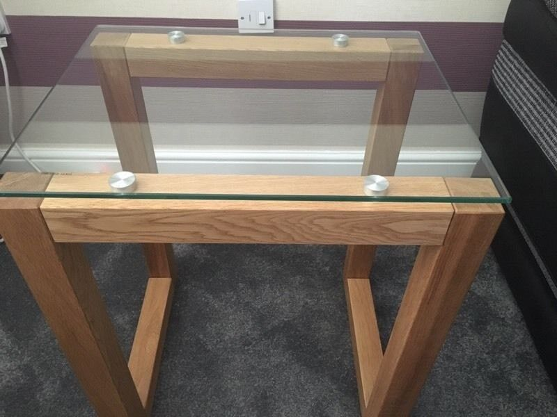 Next Oak And Glass Side Table Pair In Seaham County Durham Gumtree