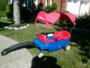 Kids wagon with canopy $30 obo