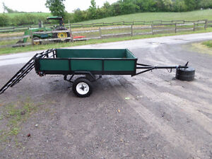 Box Trailer Completely Refurbished New Tires $850 OBO