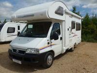 Swift Lifestyle 590 PR 4 Berth Coachbuilt U shaped Lounge 1 Owner. 22,000 miles