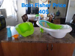 Bain fisher Price 40$