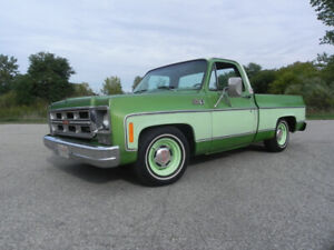 1976 GMC Square Body- 350 with AC- Factory Southern Short Box