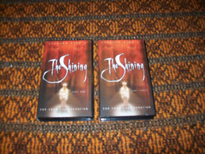 Stephen King ~ The Shining  Tapes Part 1,3 VHS Mini-Series