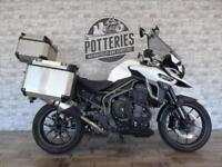 Triumph Tiger Explorer XR **2300 Miles and Loaded**
