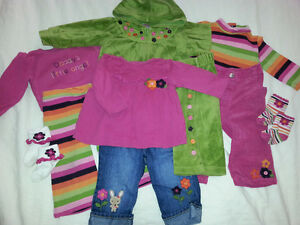 21 pcs GYMBOREE GIRL FALL CLOTHING 6-18m VETEMENTS FILLE AUTOMNE Gatineau Ottawa / Gatineau Area image 2
