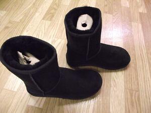 Bottes noires d'hiver