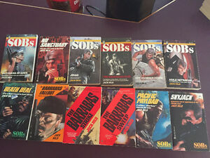 12 Jack Hild  SOB (soldiers of Barrabas) books..price reduced
