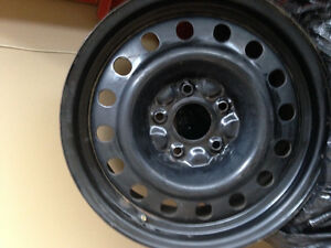Jeep Wrangler Winter Rims (4)- 17 inch-Very Good Condition!