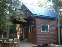 Sturgeon lake Cabin in cosy cove- open to reasonable offers