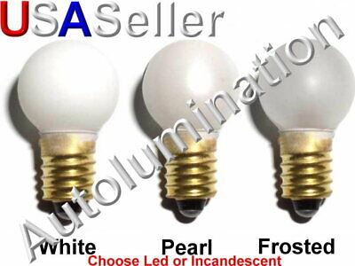 Lionel Marx Train 526 White Street Lamp Post E10 Light Bulb 18v Round 18 Volt