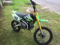 Racing pit bike 140 cc