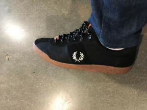 Mens Fred Perry Shoes Size 10