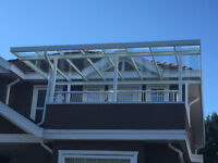 PATIO COVERS,ALUMINUM RALING